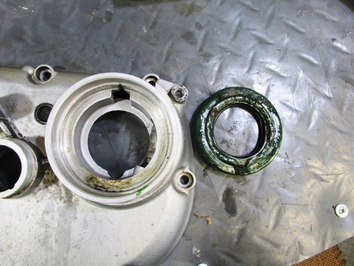 Output Shaft Seal Removed