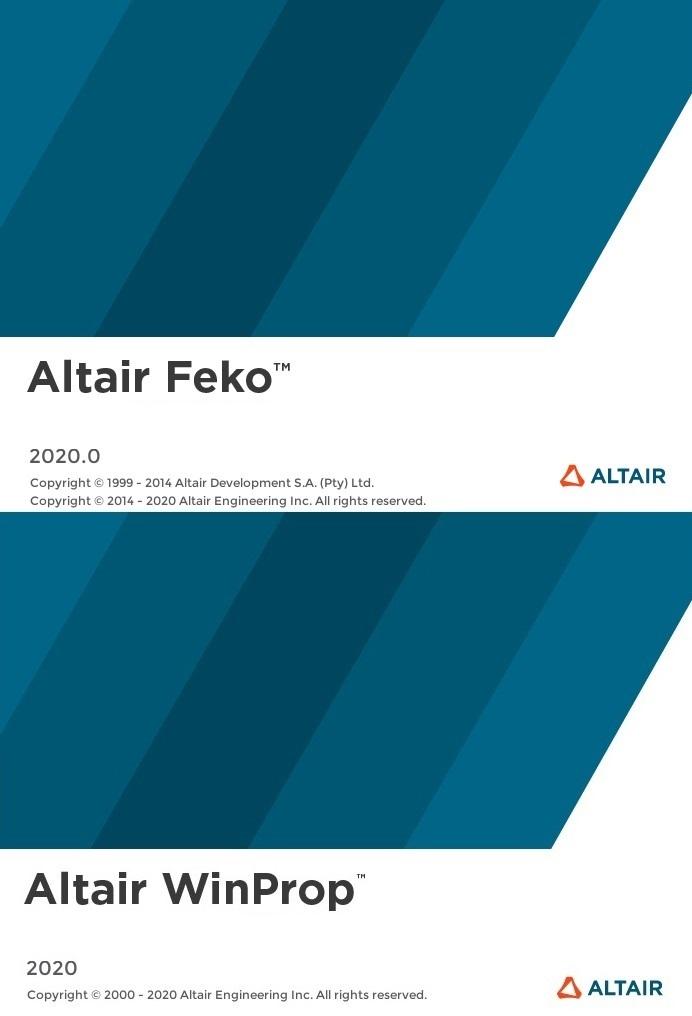 Altair HW FEKO + WinProp 2020.0 Win64 full license
