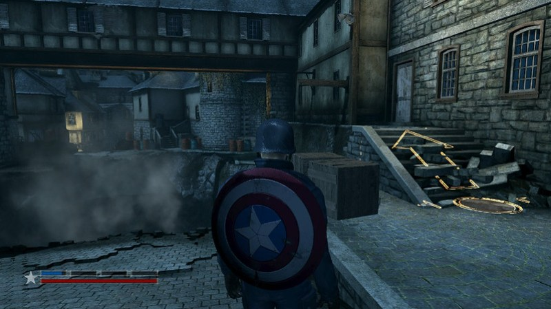 Captain America: Supersoldat - Plattform-Herausforderung