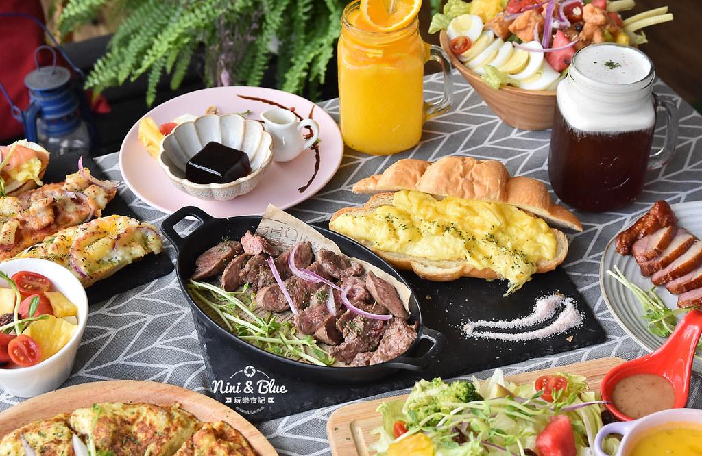 臺中 晨光手作料理坊:大里三層早午餐。大推薦玫瑰牛可頌。假日人潮多最好先訂位! - 輕旅行