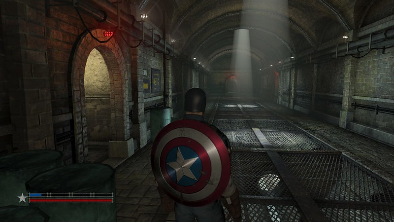 Captain America: Supersoldat - Kanalisation