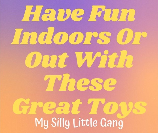 Have Fun Indoors Or Out With These Great Toys #MySillyLittleGang @Zing_Toys @PlaymobilUSA