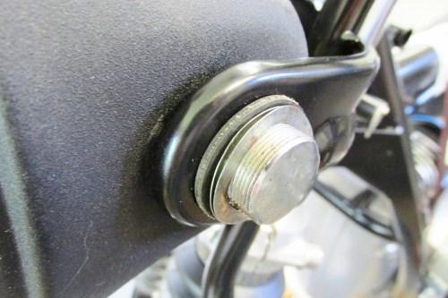 Headlight Left Side, Outside Hardware Detail