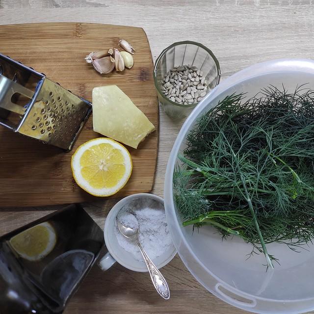 Krapesto ingredientai