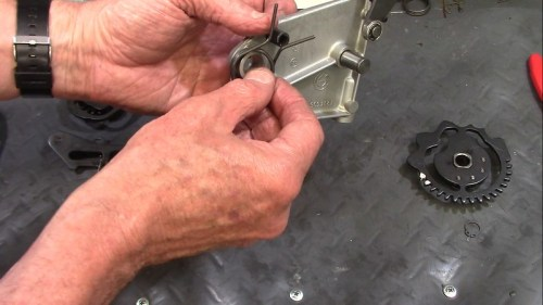 1983 Gear Shift Return Spring Fits On Large Bushing