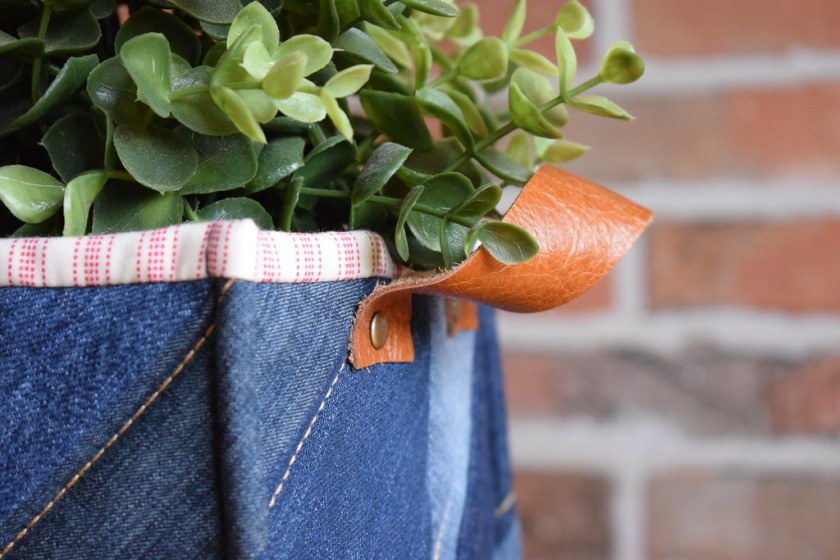 Denim Planter