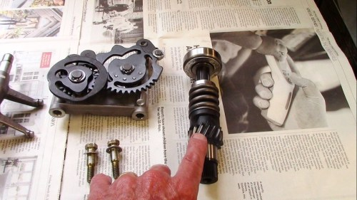 Input Shaft Helical Input Gear Engages Intermediate Shaft Helical 5th Gear