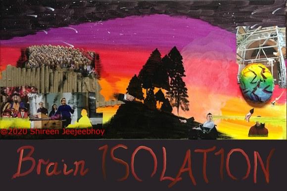 Brain Isolation Poster for Awareness