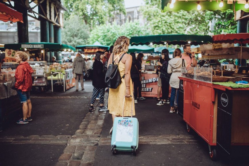 Me at Borough Market