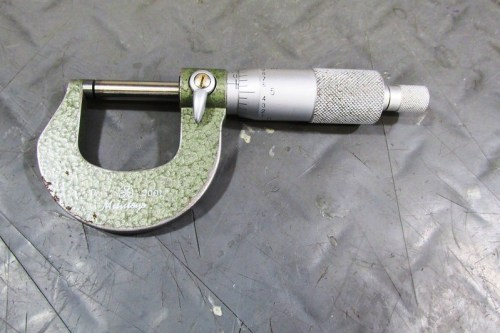 Mitutoyo Micrometer With 0.0001 Precision