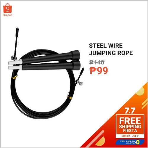 Shopee 7.7 Free Shipping Fiesta Jumpng Rope
