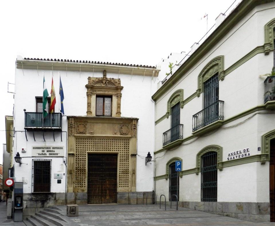 edificio exterior Conservatorio Superior de música Rafael Orozco Cordoba