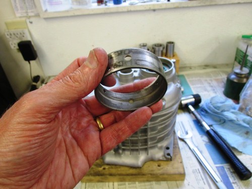 Old Crankshaft Bearing Is A Good Output Shaft Seal Drift