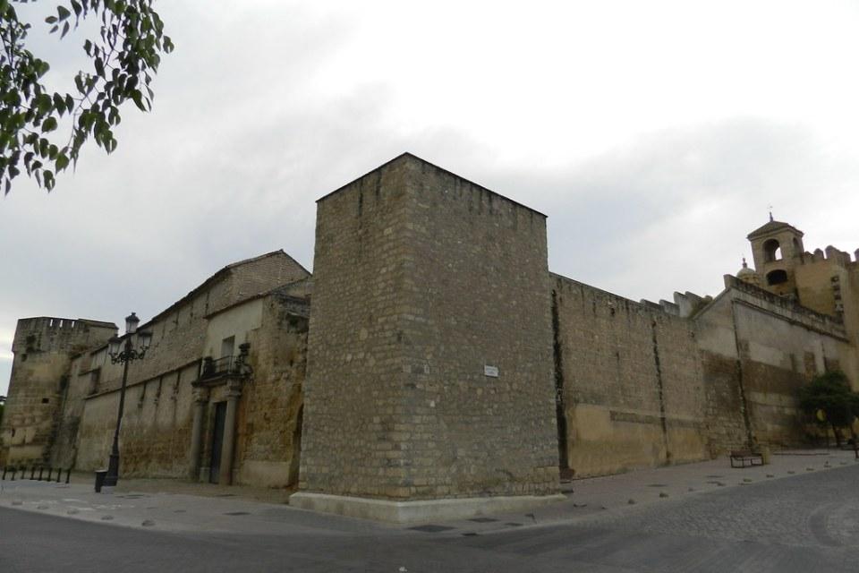 torre de la Paloma exterior del Alcázar de los Reyes Cristianos Cordoba