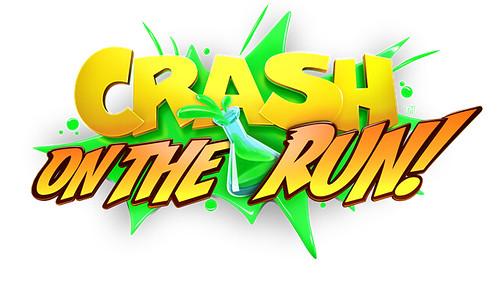 Crash Bandicoot_ On the Run! - Logo