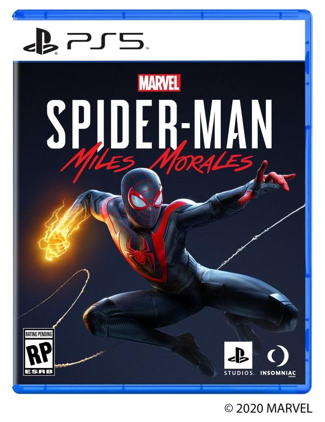 miles morales, Conhecida a capa de Marvel's Spider-Man Miles Morales para a PS5