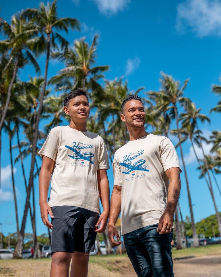 THE BRANDS HAWAIIAN LOCO UT COLLECTION AT UNIQLO HAWAII