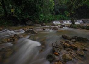 Landscape Of Lata Tebing Tinggi