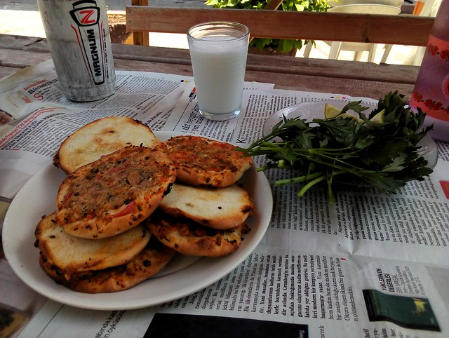 Çamlıyayla is famous for its fındık lahmacun so I had to try it once by bryandkeith on flickr