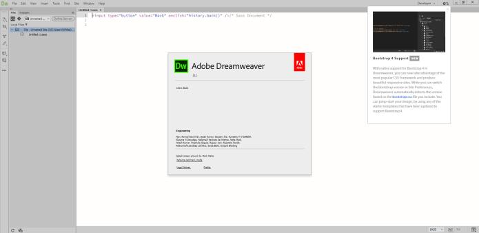Working with Adobe Dreamweaver 2020 v20.2.0.15263 full license