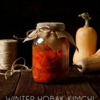 Winter Hobak (Pumpkin) Kimchi