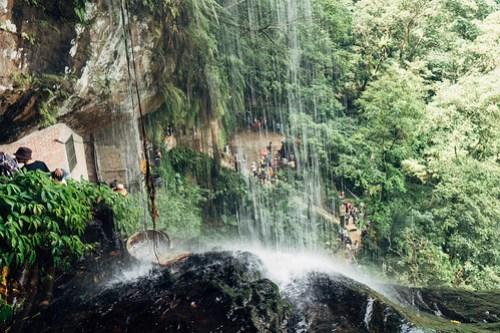 Yinhe Cave waterfall hike (銀河洞), Xindian, Taipei, Taiwan