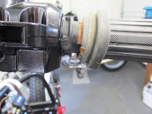 Left Handlebar Tube Mounted