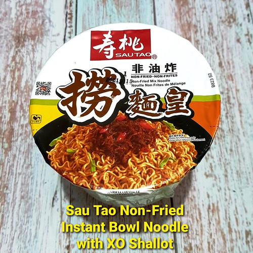 Sau Tao Non-Fried Instant Bowl Noodle with XO Shallot Sauce