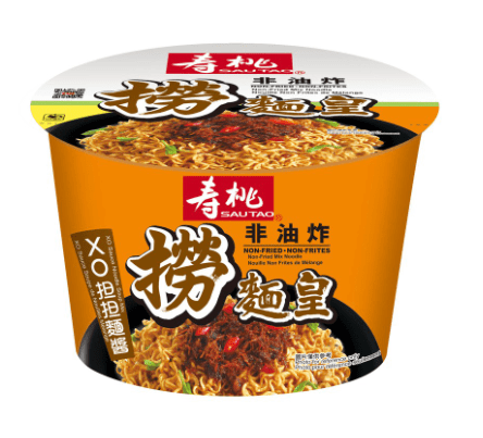 Sau Tao Non-Fried Instant Bowl Noodle with XO Tantan Soup