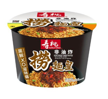 Sau Tao Non-Fried Instant Bowl Noodle with XO Black Pepper Sauce