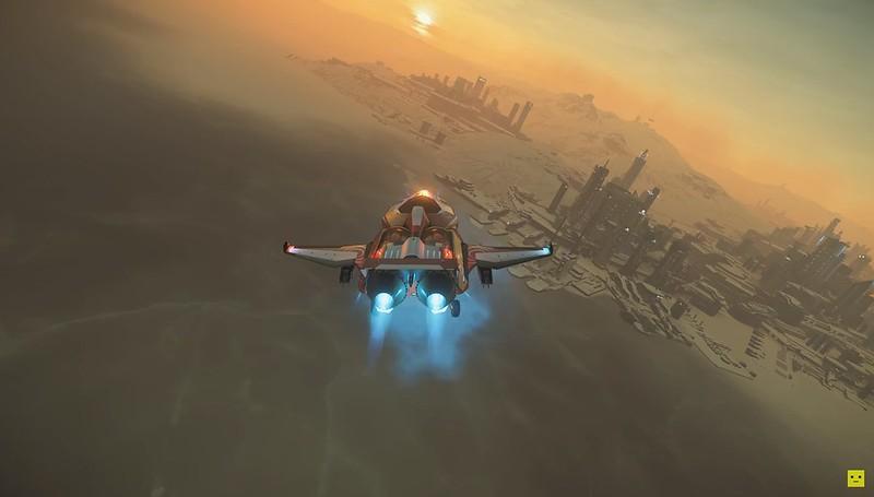 Občan hvězd - letový model