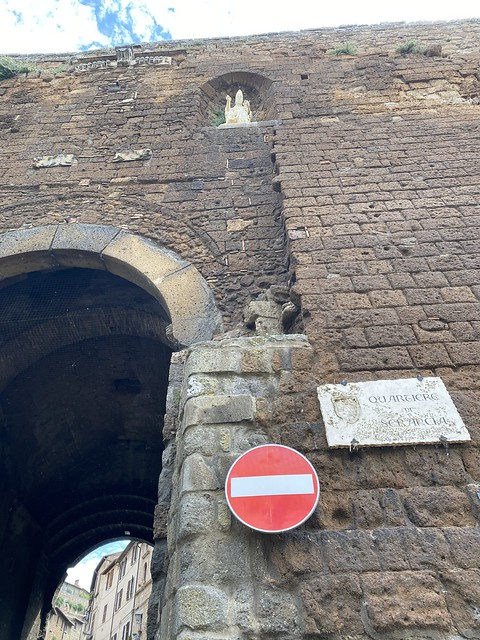 Orvieto - Stadtmauer