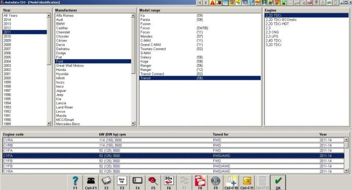 Working with Autodata 3.45 full crack