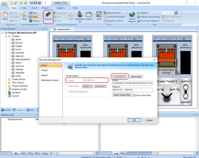 Working with Wonderware InduSoft Web Studio 8.0 full license
