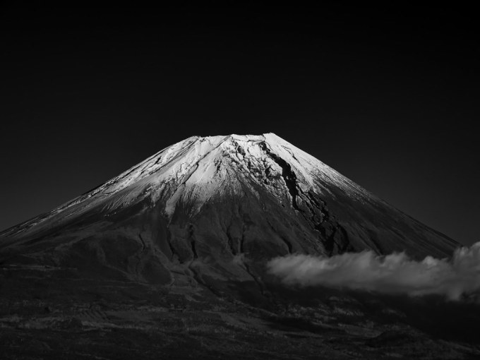 Mt.Fuji in Black and White