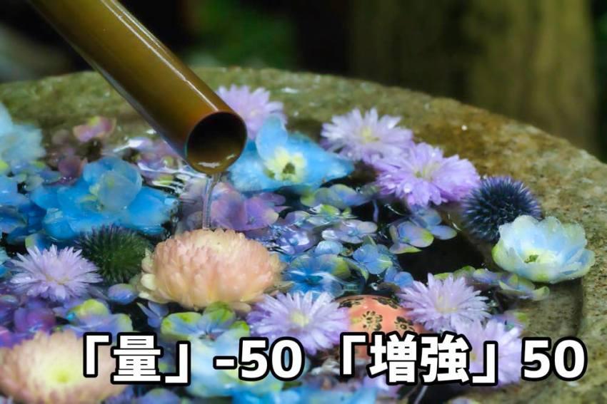 文字量−50+増強50