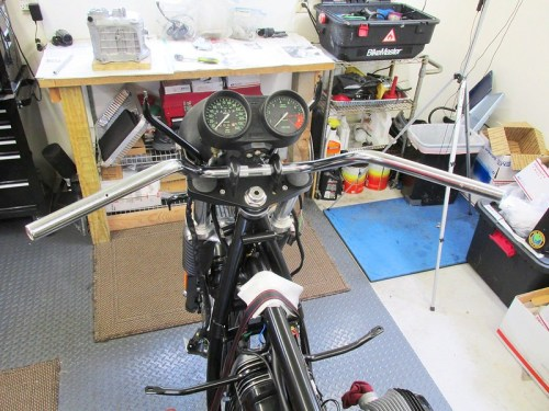 Handlebar Installed