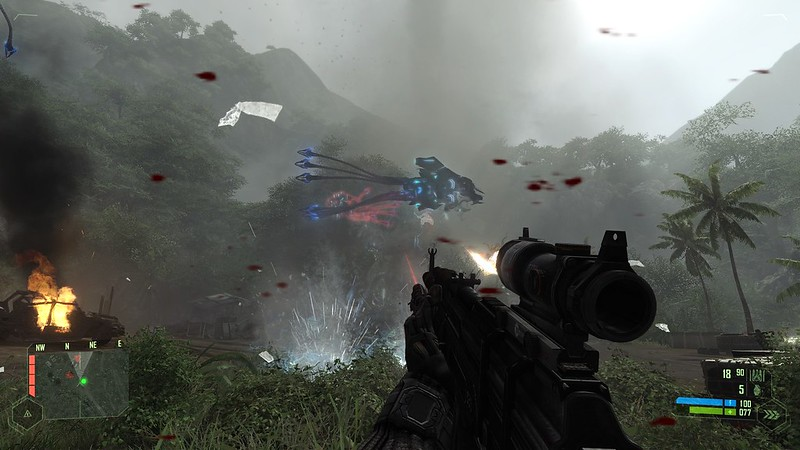 Crysis - Ultra Settings - Alien Shooter