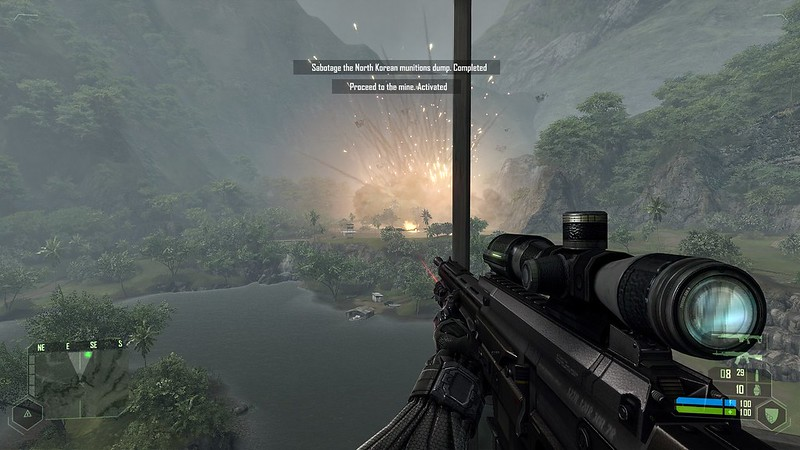 Crysis - Ultra Settings - Explosive