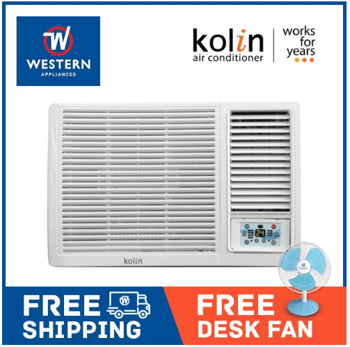 Kolin KAG100HRE4 1hp Window Type Aircon with Remote