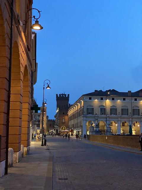 Lockdown in Ferrara?