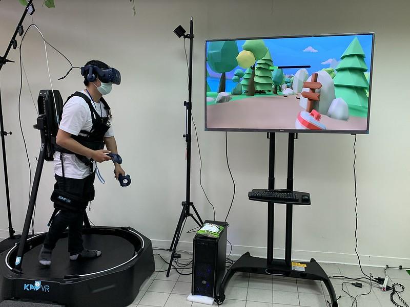 作品《HUNTER》為一款尋寶VR遊戲,讓玩家不僅有視覺與聽覺方面的身歷其境 (2)