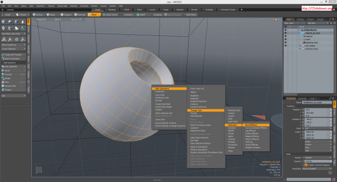 Working with The Foundry Modo 14.1v1 full license