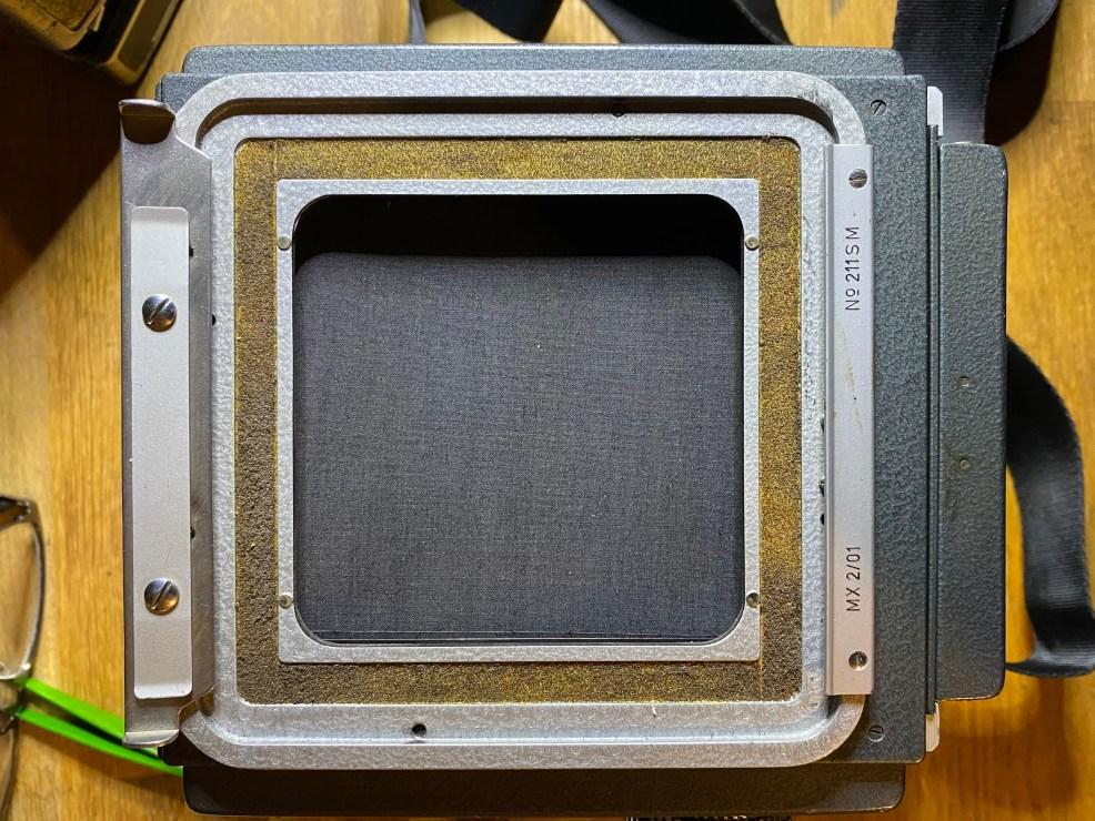 Makiflex Standard (1967) 9x9 film gate