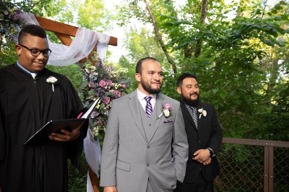 Trinity River Audubon Center Wedding