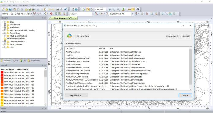 Working with Forsk Atoll 3.3.2 full license