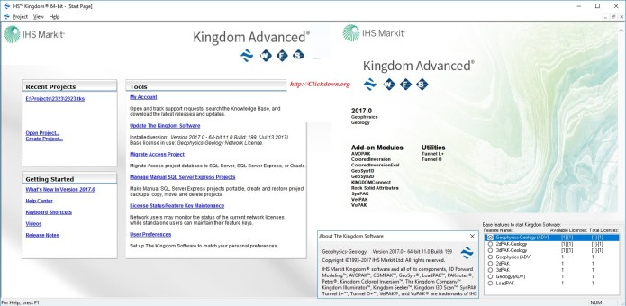 Working with IHS Kingdom Suite Advanced 2017.0 full