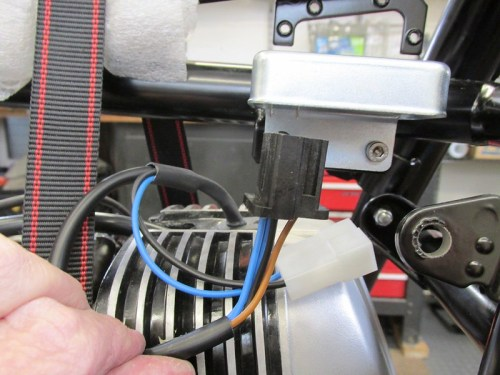Triangular Plug Fits Into Bottom Of Voltage Regulator
