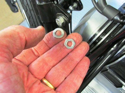Horn Strap Hardware Detail
