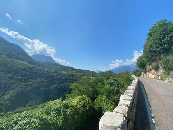 Oberhalb von Trento